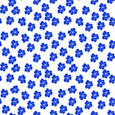 lilliesBlue fabric by maredesigns on Spoonflower - custom fabric