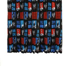 WWE Trio Curtain 54inch by .. $37.47. 100% Official Licensed Product. WWE Trio Curtain 54inch Kitchen Window Treatments, Twin Comforter, Boys Room Decor, New Room, Home Kitchens, Wwe 2, Bedroom Curtains, Kids Rooms, Design Ideas
