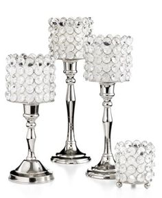 Leeber Candle Holders, Sparkle Collection - Candles & Home Fragrance - for the home - Macy's
