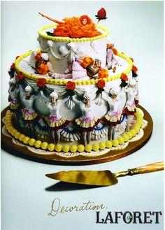 Laforet Ad by Rikako Nagashima, Cake