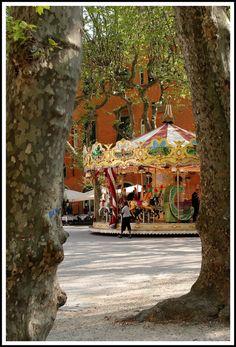 Piazza Napoleone, Lucca, ITALY