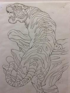 Tiger flash by KAIJU