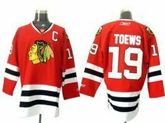 """Jonathan Toews #19 NHL Chicago Blackhawks Red Hockey Jersey Sz48 by osca. $59.50. Our store offers different kinds of jerseys. they are of high quality and low price. """"Customers highest, reputation first """" is our principle. cheap NFL jerseys will also never let you down.  Body: 100% nylon diamondback mesh  Collar: 100% polyester flat knit rib Officially licensed All suitable sizes and colors The players' numbers and names are sewn on the backs color:red sz:M"""