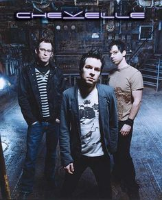 Chevelle - good, loud, (sometimes) angry music. Guaranteed to make anyone's day better!