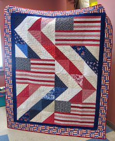 Cute quilt. Will have to remember this one. Would make nice table topper