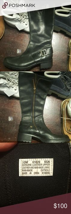 Timberland boots women's size 10 Black boots, size 10 Timberland Shoes Heeled Boots
