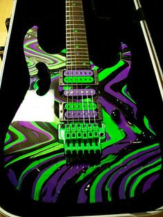 Swirled guitar pictures | ... Gmc Full Swirl Neon Hardware Electric Guitar Rg Universe 570 550 770