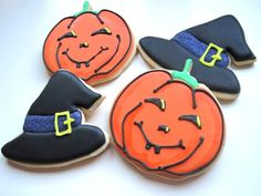 Club Cooking Cookies: Calabazas y Brujas de Halloween!! Y nueva receta de galletas {Tutorial}