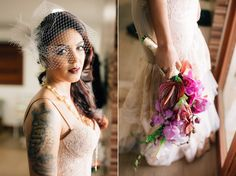 Buque noiva roxo com orquídea, suculenta e flores roxas. Delicado, rústico e bonito.