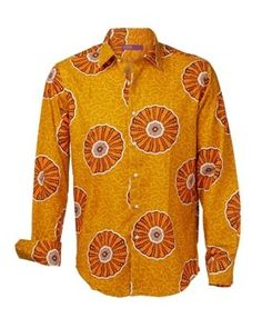 Shweshwe shirt available from the   46664 Fashion range.