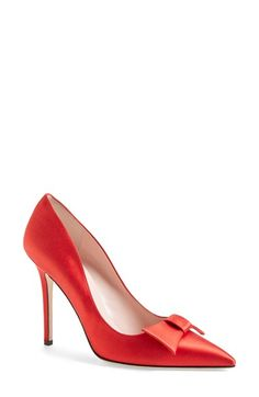 kate spade new york 'layla' pointy toe pump (Women) available at #Nordstrom