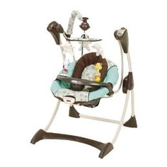 Graco Silhouette Infant Swing, Milan (Baby Product)  #baby swing Cute Pack N Play, Baby Swings, New Haircuts, Everything Baby, Future Children, Future Baby, Baby Room, Milan