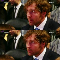 Dean x2 (this was at the Hall of Fame Ceremony) in New Orleans...he looked nice.