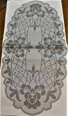 Crochet Circles, Crochet Doily Patterns, Crochet Doilies, Cross Stitch Patterns, Crochet Tablecloth, Filet Crochet, Color Patterns, Projects To Try, Weaving