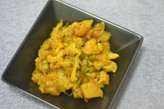 Aloo Gobhi Matar ( Cauliflower Cooked with Potatoes and Peas) Read full recipe here: http://secretindianrecipe.com/recipe/aloo-gobhi-matar-cauliflower-cooked-potatoes-and-peas  #indianfood #indianrecipes