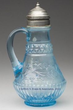 160: WILDFLOWER SYRUP PITCHER : Lot 160
