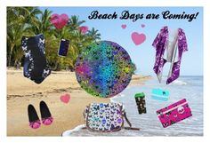 """""""Beach Day's are Coming"""" by farrellart on Polyvore"""