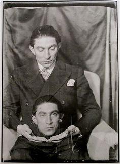 Benjamin Fondane, Paris, circa 1928, by Man Ray.