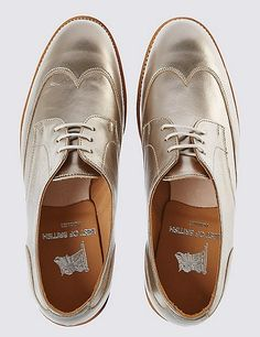 Evening Flats, Elegant Outfit, Brogues, Leather And Lace, Block Heels, Derby, Oxford Shoes, Dress Shoes, Lace Up