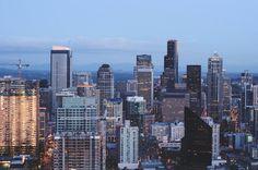 Anna Lee Photography Minneapolis Photographer Copyright © 2013 Downtown Seattle, Washington Skyline