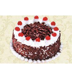 Black Forest 1 Kg Fresh Cake Chocolate Birthday Cakes