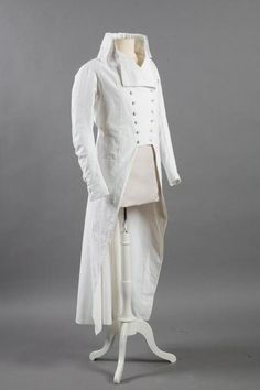 Frock coat, fourth quarter of the 18th century, Vendôme Museum.