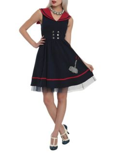 Marvel By Her Universe Thor Sailor Dress  --- So, so pretty