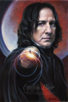 Professor Snape, Defense Against the Dark Arts from Harry Potter (Alan Rickman as Severus Snape) and yes, he can read your mind. This amazing artwork . Snape: Defense Against the Dark Arts Harry Potter World, Rogue Harry Potter, Magia Harry Potter, Harry Potter Severus Snape, Alan Rickman Severus Snape, Severus Rogue, Mundo Harry Potter, Theme Harry Potter, Harry James Potter