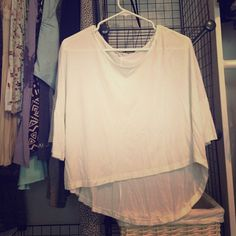 2e5189ddc9dc0 Shop Women s Aritzia White size M Tops at a discounted price at Poshmark.
