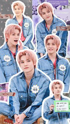 K Pop, Wallpapers Kpop, Cute Wallpapers, Nct 127, Cute Beanies, Korean Boys Ulzzang, K Wallpaper, Bts Aesthetic Pictures, Nct Taeyong