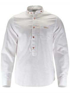 Trachtenhemd Bennet weiß Chef Jackets, Fashion, Fashion Styles, Dirndl, Wedding, Moda, Fashion Illustrations