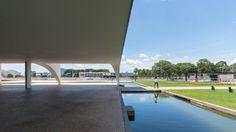 Oscar Niemeyer, Gonzalo Viramonte · Palácio do Planalto, 1960