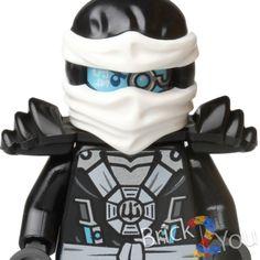 Lego Ninjago Zane Minifigure from 70737 Titan Mech Battle - NEW #LEGO