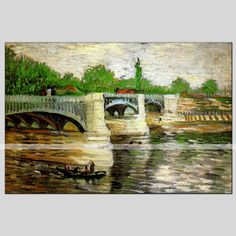 peintures à l'huile de matériau de toile de paysage avec cadre étiré prêt à accrocher la taille 90 * 60cm de 4962281 2016 à €63.69