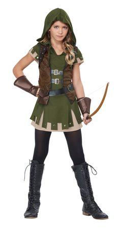 Miss Robin Hood Arrows Child Girls Tween Costume Robin Hood Halloween Costume, Modest Halloween Costumes, Girl Superhero Costumes, Tween Costumes, Super Hero Costumes, Couple Halloween, Costumes For Women, Halloween Ideas, Halloween Party