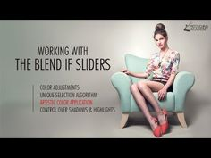 Retouching Tutorial: Working with Layer Blend If Sliders in Adobe Photoshop - YouTube