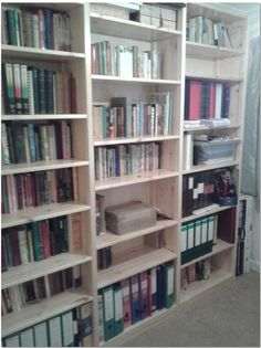 Does your bookcase look as organised as this one?