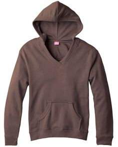 Ladies Terry Pullover – Buy ladies french terry v-neck hooded pullover at Gotapparel.com. #Hoody #feelsgood #vneck