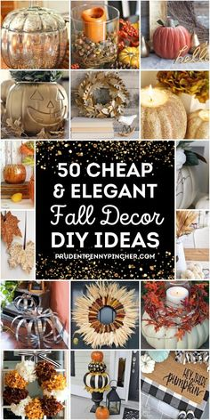 Diy Home Decor On A Budget, Fall Home Decor, Elegant Fall Decor, Pottery Barn Inspired, Decor Crafts, Decor Diy, Decor Ideas, Fall Crafts, Decorating Ideas