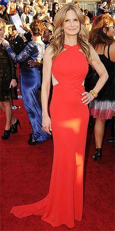 Kyra Sedgwick in Pucci at the SAG Awards