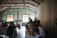 Fairy Lights In Country Style Wedding Reception Venue Sydney