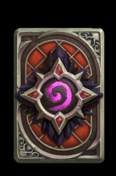 What is a Card Back? A card back is the art on the back of your cards. It is viewed in game by you and your opponent, when you open a pack, and when you view your cards in the my collection viewer. Menu Ranked Play Card Backs [. Art Warcraft, World Of Warcraft, Game Card Design, Prop Design, Hearth Stone, Elemental Powers, Soul Stone, Art Carte, Rpg