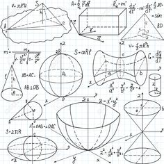25963748-Beautiful-seamless-pattern-with-mathematical-figures-plots-and-formulas-handwritten-on-the-copybook--Stock-Vector.jpg (1300×1300)