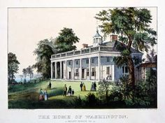 Mount Vernon, VA.  Home of George Washington.