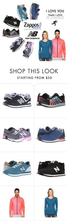 """Run the World in New Balance"" by sandralalala ❤ liked on Polyvore featuring New Balance Classics, New Balance and NewBalance"