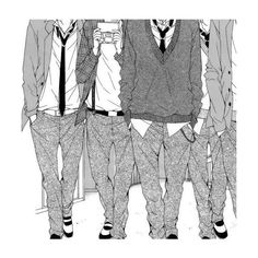Treize Café Photo ตอนที่ 155 PIC Manga ❤ liked on Polyvore featuring anime, fillers, manga, aesthetic and art