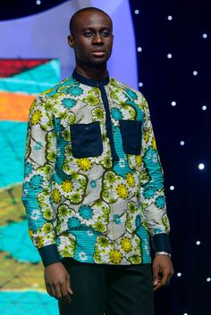 African Shirts For Men, African Dresses Men, African Wear, Nigerian Men Fashion, African Men Fashion, Mens Fashion, Modern African Clothing, African American Men, Mans World