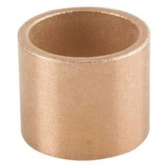 A sleeve bearing facilitates linear movement between two parts and can be made of bronze or even plastic. Bunting Bearings Sleeve Bearing include characteristics like: Length: Material: Powdered Metal Bronze (SAE