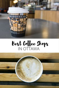 A collection of the best coffee shops in Ottawa, Ontario, Canada. My favorite cafes for coffee and baked goods, including places with vegan options! Ottawa Canada, Ottawa Ontario, Best Coffee Shop, Coffee Shops, Coffee Coffee, Quebec Montreal, Ontario Travel, Canadian Travel, Canadian Rockies