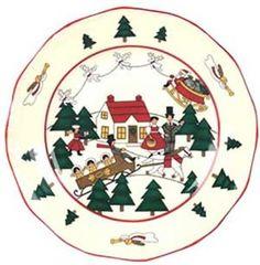 Christmas Village Ontbijtbord 20 cm kopen? Volop serviezen op voorraad! Veel voordeel!